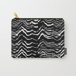 Dark Glitch Abstract Pattern Carry-All Pouch