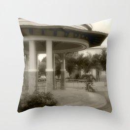 Plaza de Rincon # 2 Throw Pillow