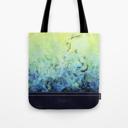 Amaranthine - Original Abstract Painting Tote Bag