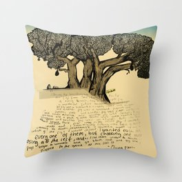 The Fig Tree Throw Pillow