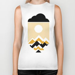 The Day The Sun Disappears Biker Tank