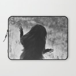 Golden Lion Tamarin in Black and White Laptop Sleeve