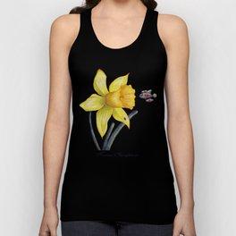 Future Botanical Studies - Daffodil Unisex Tank Top