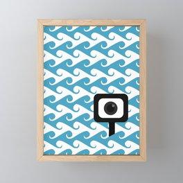 Searching Framed Mini Art Print
