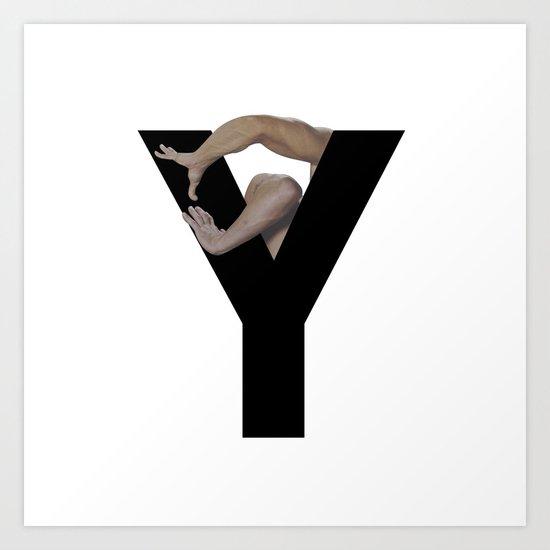 Y. Art Print