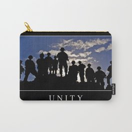 Unity: Inspirational Quote and Motivational Poster Carry-All Pouch