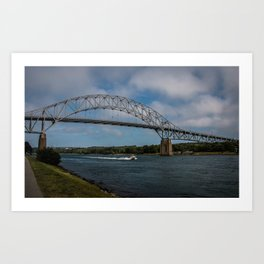 Bourne Bridge in the Day Art Print