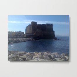 Stone kisses the sea Metal Print