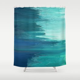 Pixel Sorting 49 Shower Curtain