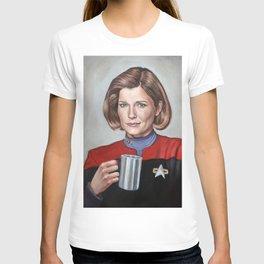 Captain Janeway - Portrait Painting T-shirt