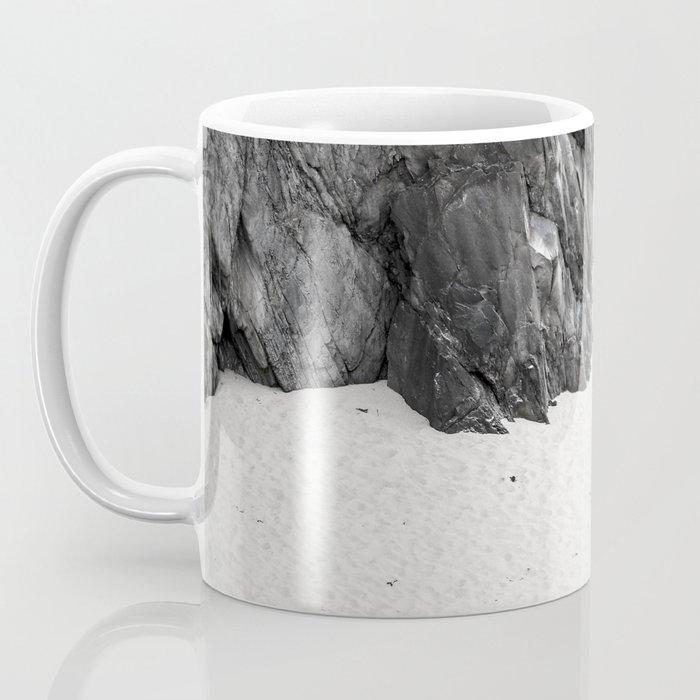 rocks in black and white Coffee Mug