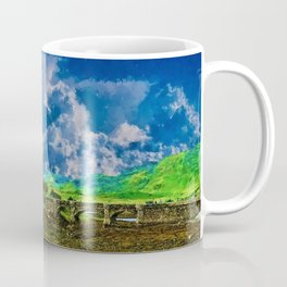 Castle and Storm Clouds Coffee Mug