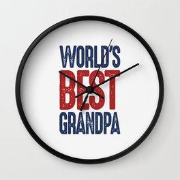 Gift for Grandpa Wall Clock