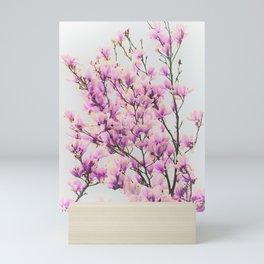 Magnolia in a vintage look Mini Art Print