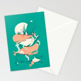 Oskar print #1 Stationery Cards
