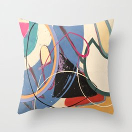 Unusually Composed Throw Pillow