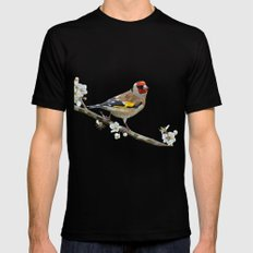 The Goldfinch Mens Fitted Tee Black X-LARGE