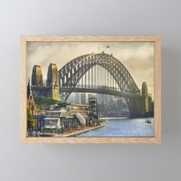 Sydney Harbour Framed Mini Art Print
