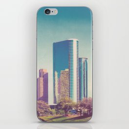 Downtown Houston Panorama iPhone Skin