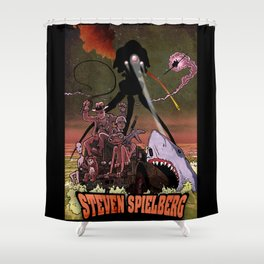 STEVEN SPIELBERG Shower Curtain