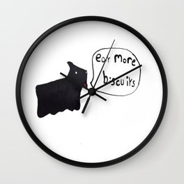 Good Advice Dog Wall Clock