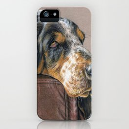 Hound Dog iPhone Case