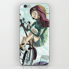 Bikes Not Bombs iPhone Skin