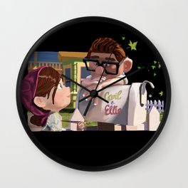 UP Carl and Ellie Wall Clock