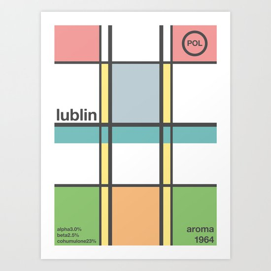 lublin single hop Art Print