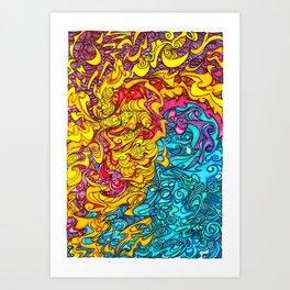 Windstorm Art Print