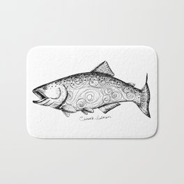 Chinook Salmon Bath Mat