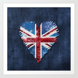Brexit Or Not Britain We Love You Art Print