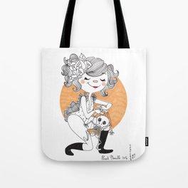 Marionette squelette Tote Bag