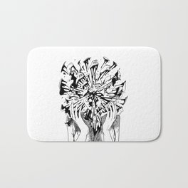Burst Bath Mat