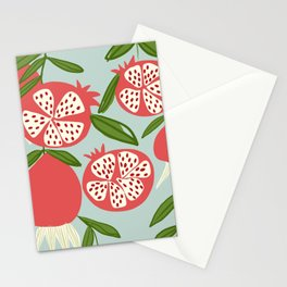 Pops Apples Stationery Cards