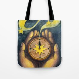 Compass of the Stars Tote Bag