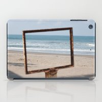 frame iPad Cases featuring Frame on a frame by fofiane