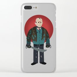Jason Voorhees Friday the 13th Jason X Clear iPhone Case
