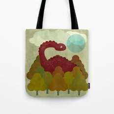 RED DINO Tote Bag