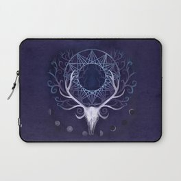 Season Of The Moon's Winter Fire Laptop Sleeve