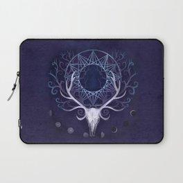 Season Of The Moon's Winter Fire Laptop Sleeve