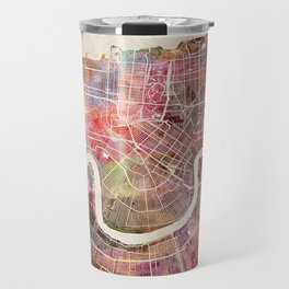 New Orleans map Travel Mug