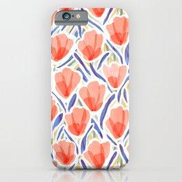 Sanguine Sway Persimmon iPhone Case