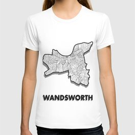 Wandsworth - London Borough - Simple T-shirt