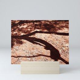 African Shadow Tree 6 Mini Art Print