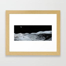 Sampling Shorty Framed Art Print