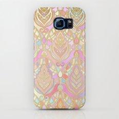 Rosy Opalescent Art Deco Pattern Slim Case Galaxy S7