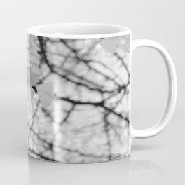 Black & White Ginkgo  Coffee Mug
