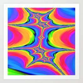 Motions of Existence Art Print
