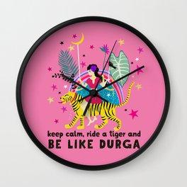 Be like Durga Wall Clock